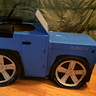 Photo #3 - Blue Jeep