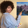 Photo #1 - Painting a scene