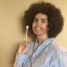 Photo #2 - Holding a brush