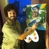 Photo #1 - Bob Ross and his Happy Tree