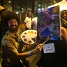 Photo #5 - Bob Ross and his Painting