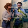 Photo #3 - Bob Ross & His Happy Little Painting