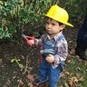 Photo #2 - Bob the builder tries to fix something.