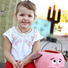 Photo #5 - Maria with Chewy the Pig