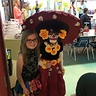 Photo #5 - My daughter in Le Meurte costume at school