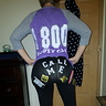 Photo #3 - Back view with 'call me' '1800bootycall'
