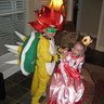Photo #1 - Bowser and Princess Peach
