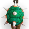 Photo #2 - Bowser Costume Back View - 100%Cotton, so spikes are soft!