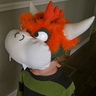 Photo #5 - Close-up of Bowser Headpiece
