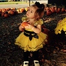 Photo #1 - Holding her pumpkin!