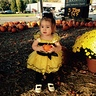 Photo #2 - Holding her pumpkin again!