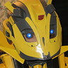 Photo #5 - Bumblebee Helmet Front View