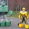 Photo #1 - Bumblebee and Bulkhead in robot mode