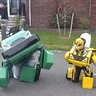 Photo #2 - Bumblebee and Bulkhead transforming