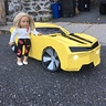 Photo #4 - the car with my twin doll ( to show the scale )