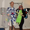 Photo #1 - Family costume: Butterfly catcher, mommy butterfly and baby caterpillar