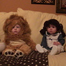 Photo #4 - Our cabbage patch doll with her cousins