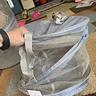 Photo #2 - zip-tyed laundry hamper