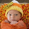 Photo #2 - Aria Grace 1 week old. Candy Corn baby