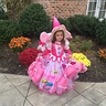 Photo #4 - Candy witch with her candy basket & lolipop broom