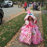 Photo #10 - She had a blast!!! Trick or treating big bag was also hand made!