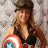 Photo #1 - Captain America Pin-Up style