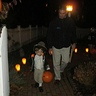 Photo #3 - Trick or treating with my daddy!