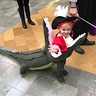 Photo #1 - Captain Hook getting EATEN by Tick Tock Croc