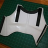 Photo #10 - Chest Armor Glue Joint and Foam Padding