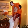 Photo #3 - Car Fox showing off her tail