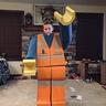 Photo #2 - Cardboard LEGO Man