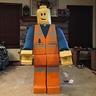 Photo #1 - Cardboard LEGO Man