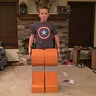 Photo #3 - Cardboard LEGO Man