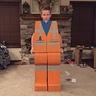 Photo #5 - Cardboard LEGO Man