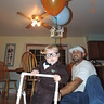 Photo #3 - Carl just hanging out on his walker