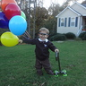 Photo #1 - Jasper as Carl from Up ready to blow away.