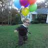 Photo #3 - Jasper as Carl from Up loving the cane.