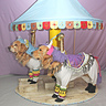 Photo #1 - Phoenix and Gryphon as Carousel Horses