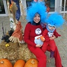 Photo #3 - Thing 1 and Thing 2 with the Fish