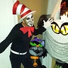 Photo #4 - Best Cat in the Hat costume and make-up