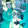 Photo #6 - Here are Declan's brother and sister. I also made these costumes. Again, we wanted to go with a garden theme. Everybody loved the costumes!