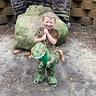 Photo #2 - Cave Man riding his Dino