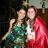 Photo #3 - Me (Christmas Tree) and my friend (Little Red Riding Hood)