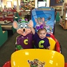 Photo #5 - Taking a ride with Chuck E. Cheese