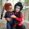 Photo #5 - Cruze and his brother Camden who is dressed as Jigsaw!