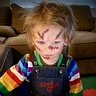 Photo #1 - Chucky plotting his plan to get the most candy!!