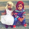 Photo #1 - Chucky and Bride of Chucky