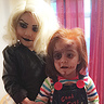 Photo #1 - Chucky and Tiffany Bride of Chucky
