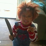 Photo #1 - my 3 year old as chucky