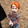 Photo #1 - Mason as Chucky the evil doll